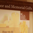 Kingston Hospital Recognizing Gifts to the Foundation