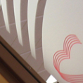 Solvent Printed Silver Glass Etch Film with Contour Cutting