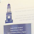 SUNY New Paltz Orange & Blue Society Donor Recognition