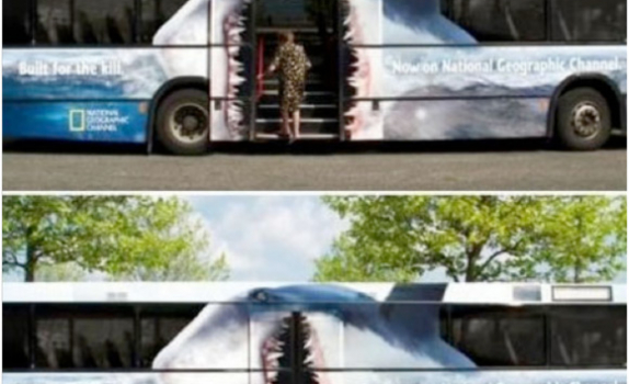 National Geographic Hungry Bus
