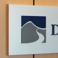 Aluminum Pan Sign with Dimensional Letters