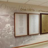 Kingston Hospital 110 Year Wall