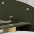 Custom Waterjet Cut Steel Bracket and High Density Urethane Inner Structure