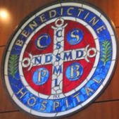 Benedictine Hospital Mission Wall