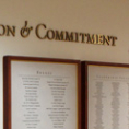 110 Year Anniversary Donor Wall