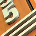 Aluminum Veneer Letters and Accents