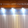 Custom Frame and Panel For NYPD Memorial Wall